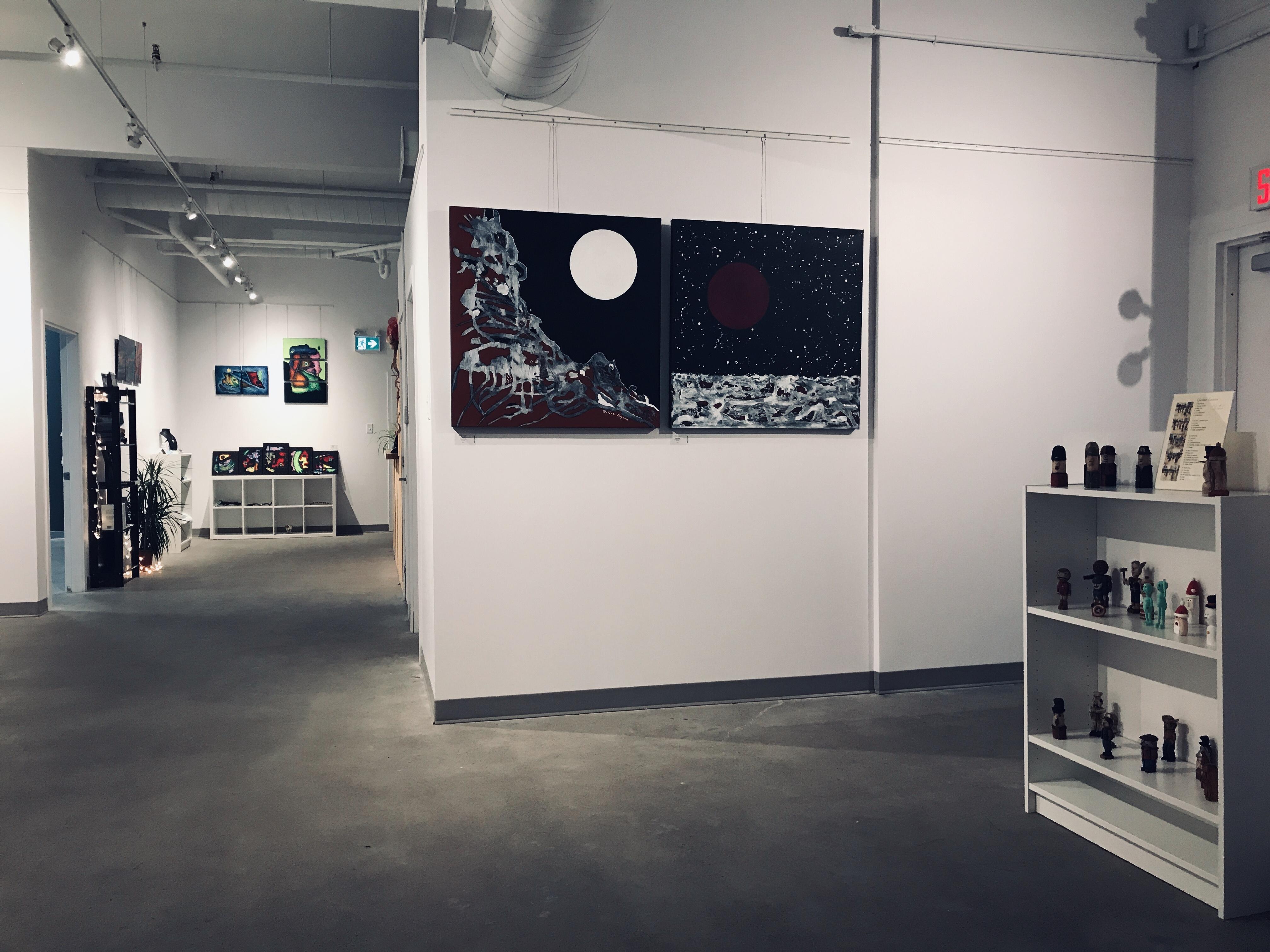 Vue de la Galerie Blanche