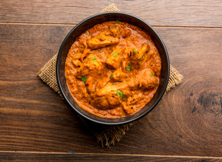 Recipe: Butter Chicken with Cauliflower Pilau