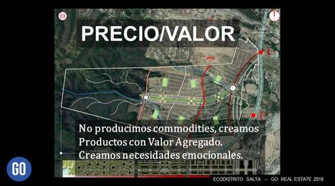 PRECIO / VALOR