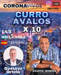 CORONA VIVOS CURRO AVALOS