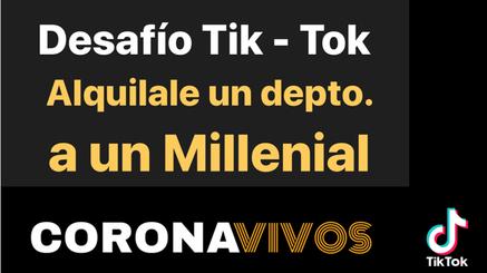 CORONA VIVOS TIK-TOK
