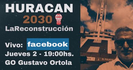 HURACAN 2030 LA RECONSTRUCCION