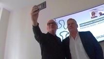 Selfie con Fabio De Marco