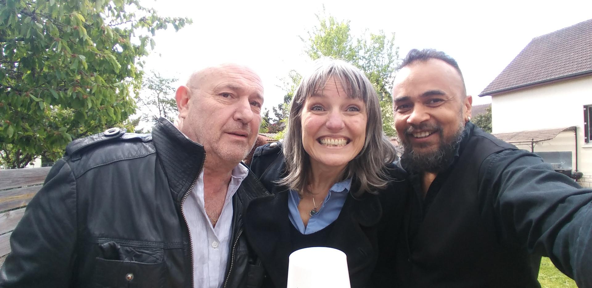 avec Fabrice et Betty