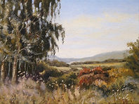 From The Garden House, Oil painting by D