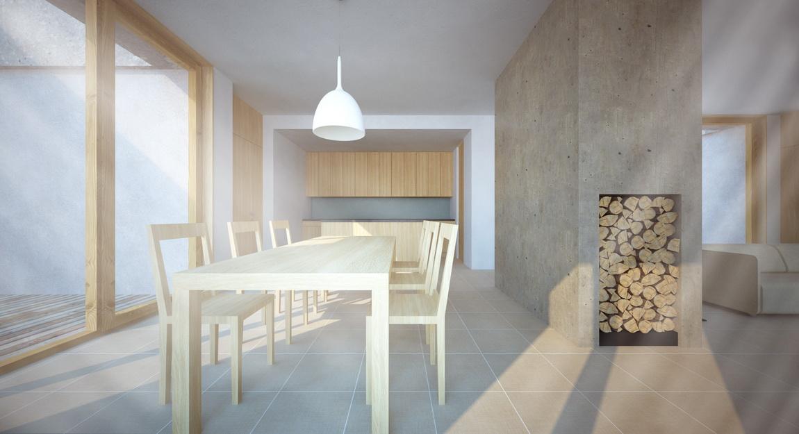 dům M&I - interiér