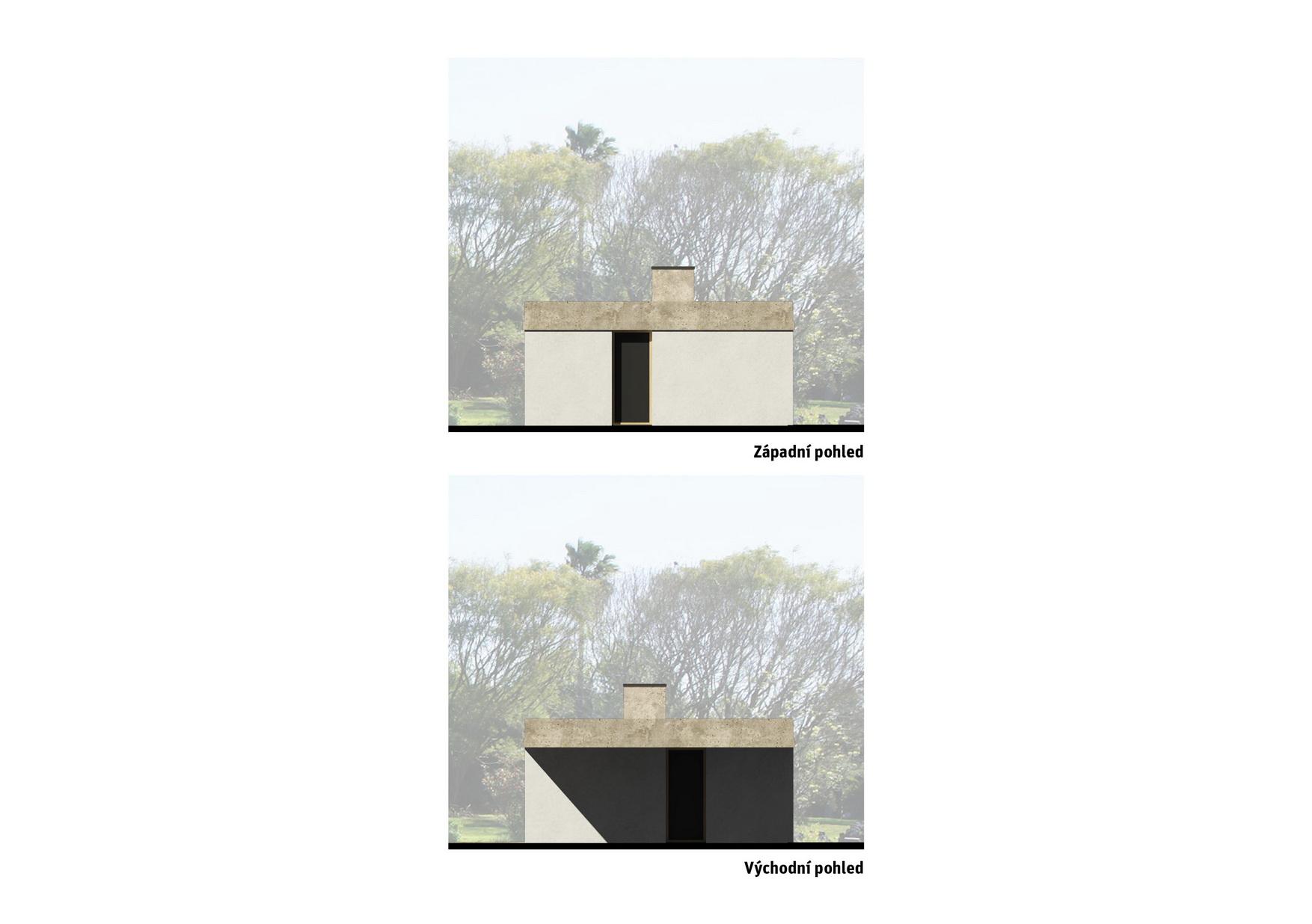 dům M&I - pohledy