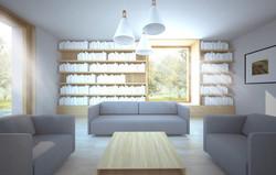 dům A&K - interiér