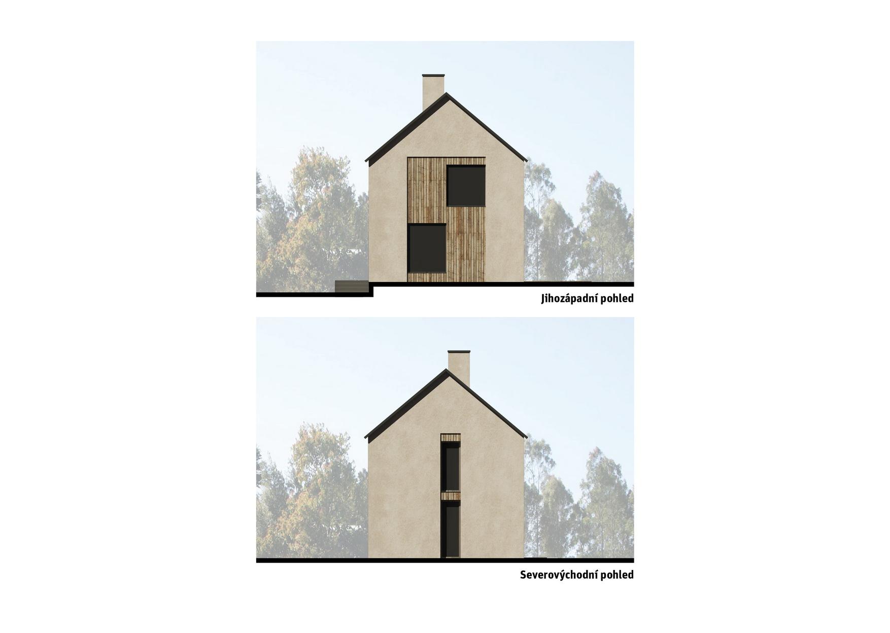 dům A&K - pohledy