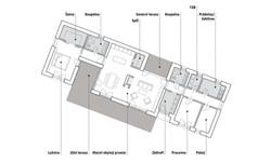 dům M&I - půdorys