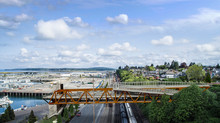 $19M bridge for people and pipes will open this fall on Everett waterfront