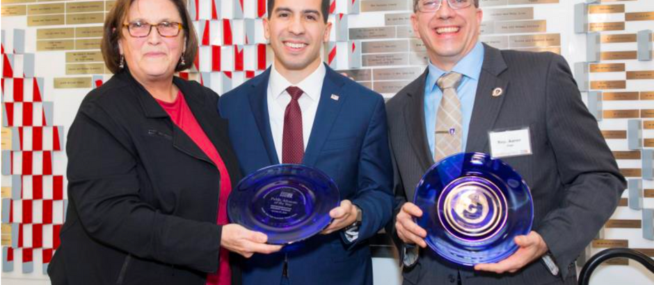 The Greater Boston Food Bank honors Representative Andy X. Vargas as Public Advocate of the Year