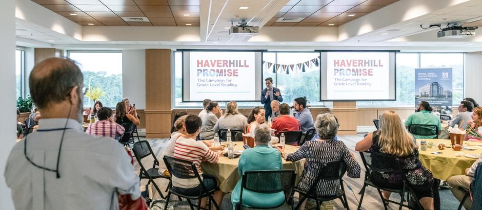 Haverhill Promise, Literacy Initiative Reaches Milestone