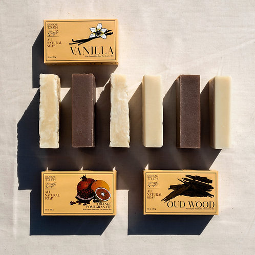 Handcrafted 6 Bar Variety Pack