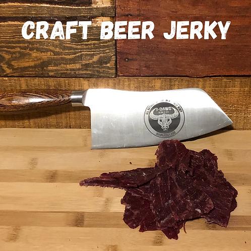Seasonal Craft Beer Jerkys  3 oz. Package
