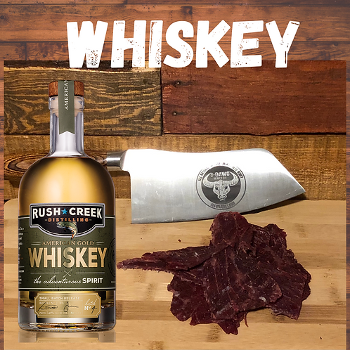 Whiskey Flavor Smoked Beef Jerky -    3 oz. Package