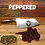 Thumbnail: Peppered Smoked Beef Jerky  - 3 oz. Package