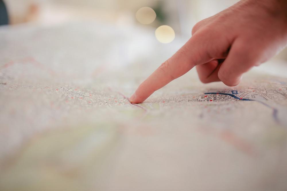 earthquake map plan