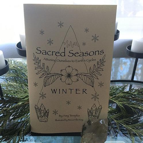 Sacred Seasons Winter Guidebook: Hard Copy