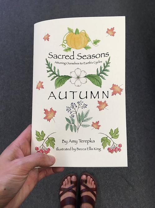 Sacred Seasons Autumn Guidebook: Hard copy