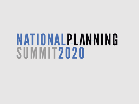 Highlights from the National Planning Summit 2020: