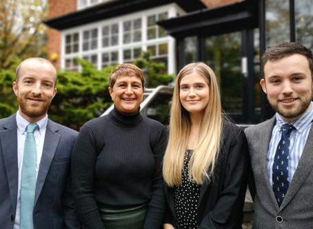 New Starters at White Peak Planning