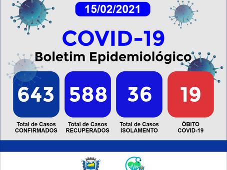 Boletim Informativo - 162 - COVID19 - Corinto