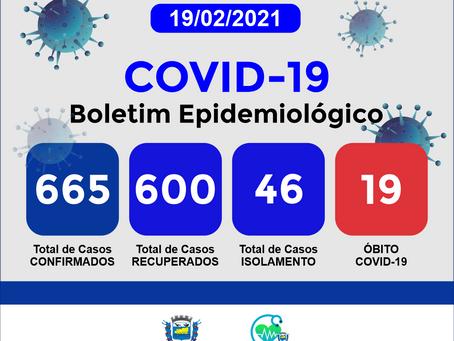 Boletim Informativo - 165 - COVID19 - Corinto