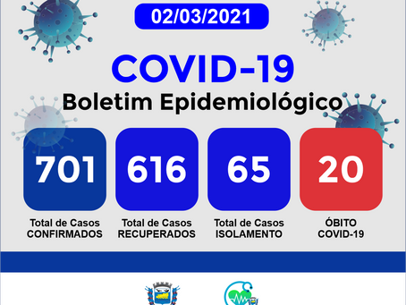 Boletim Informativo - 171 - COVID19 - Corinto