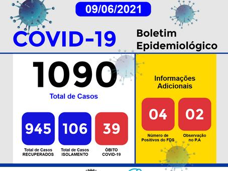Boletim Informativo - 232 - COVID19 - Corinto
