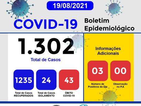 Boletim Informativo - 277 - COVID19 - Corinto