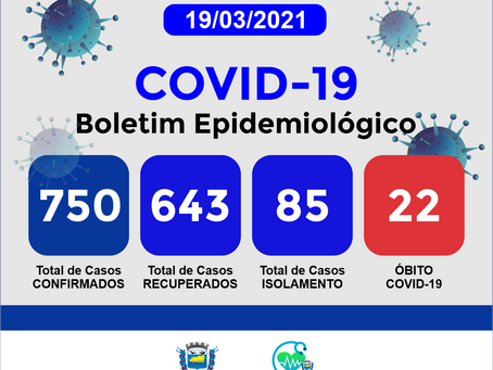 Boletim Informativo - 183 - COVID19 - Corinto