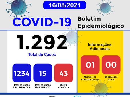 Boletim Informativo - 274 - COVID19 - Corinto