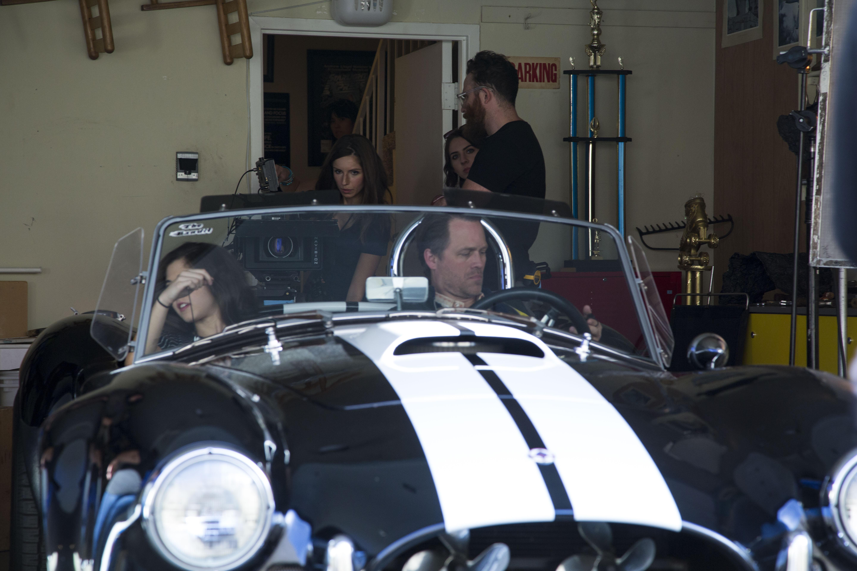 Cobra in garage