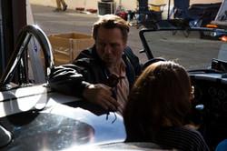 Rob backs in Cobra