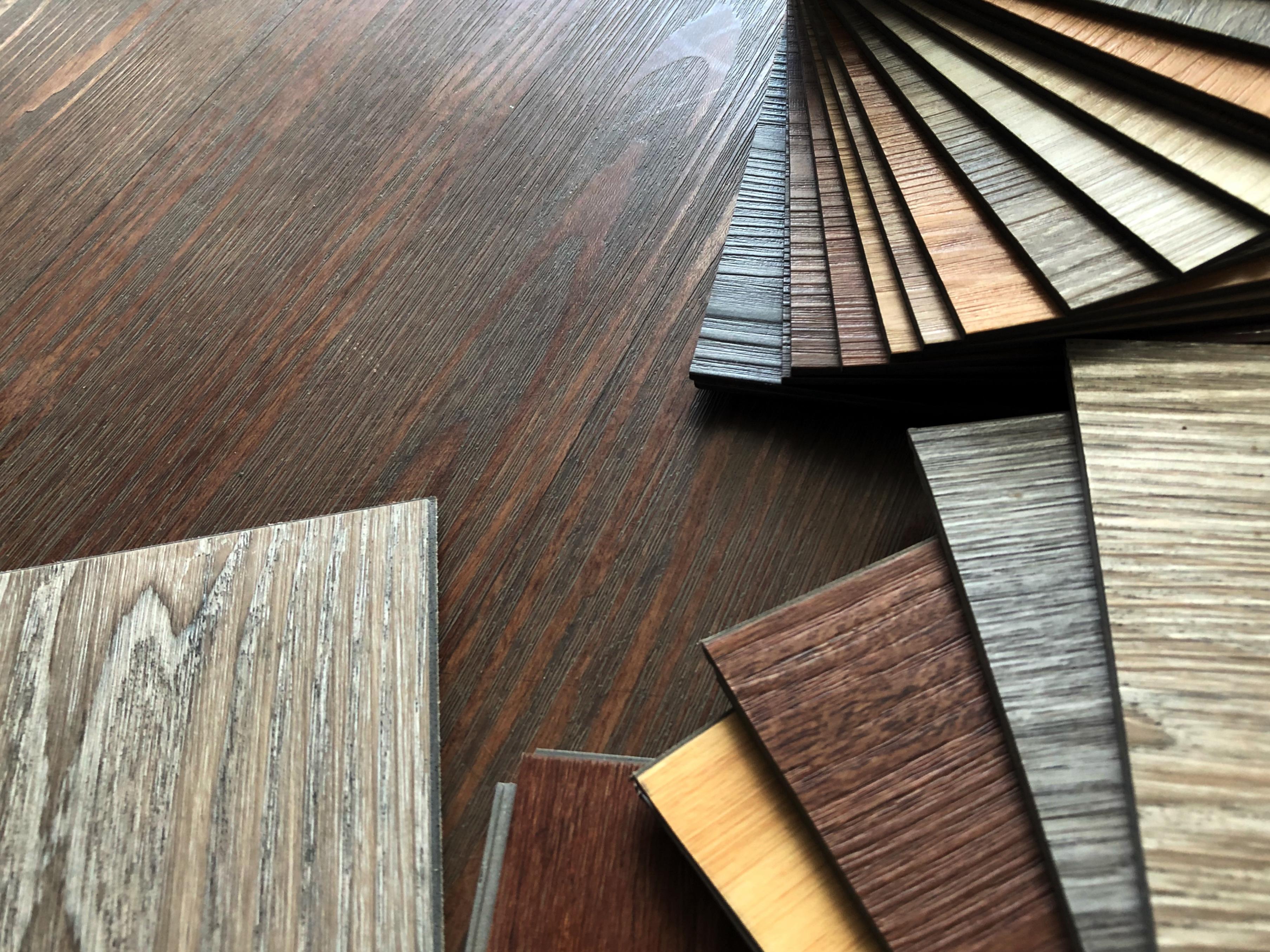 Luxury flooring materials