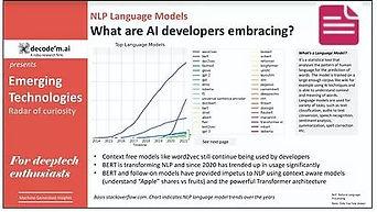 Emerging technologies NLP language models