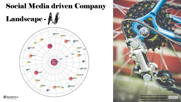 Social Media driven Company Landscape - AI