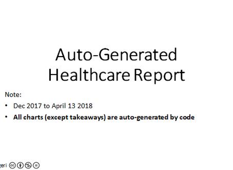 Auto-generate reports via coding & AI