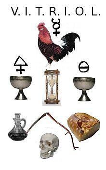 Coq alchimique