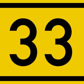 Symbolisme du 33