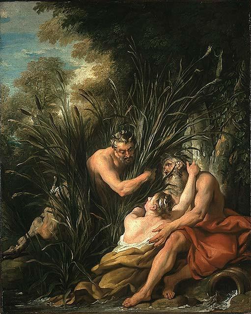 ean-Francois de Troy Pan et Syrinx, 1733