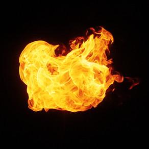 Bachelard, l'imaginaire du feu