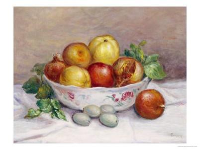 Pierre-Auguste Renoir, Nature morte à la grenade