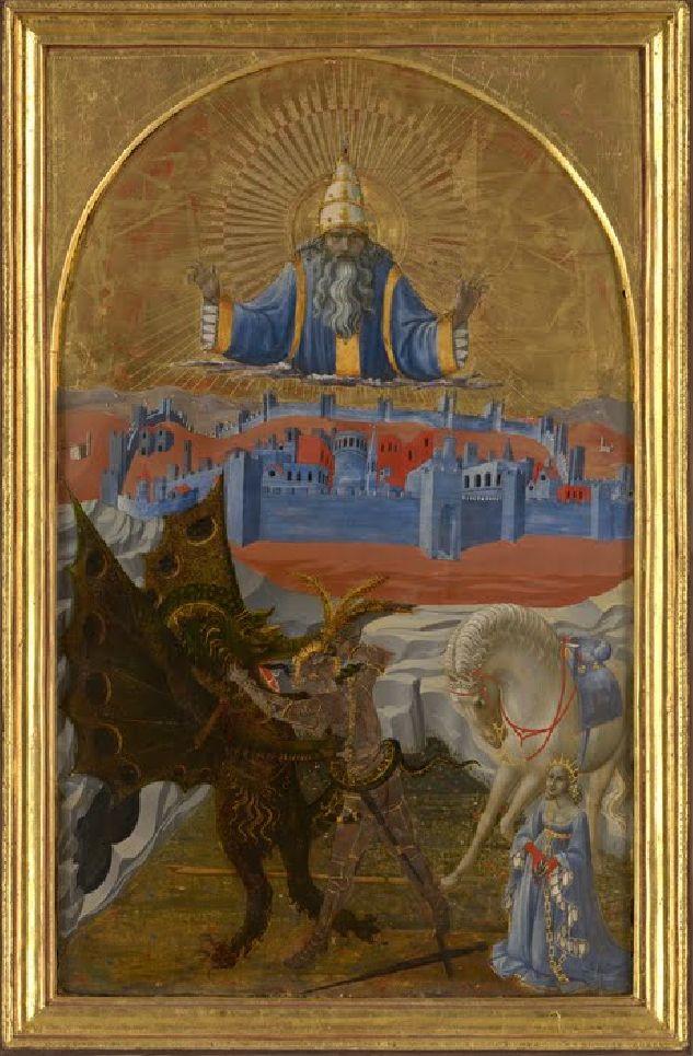 Paolo Uccello, Saint-Georges et le dragon, v. 1470.