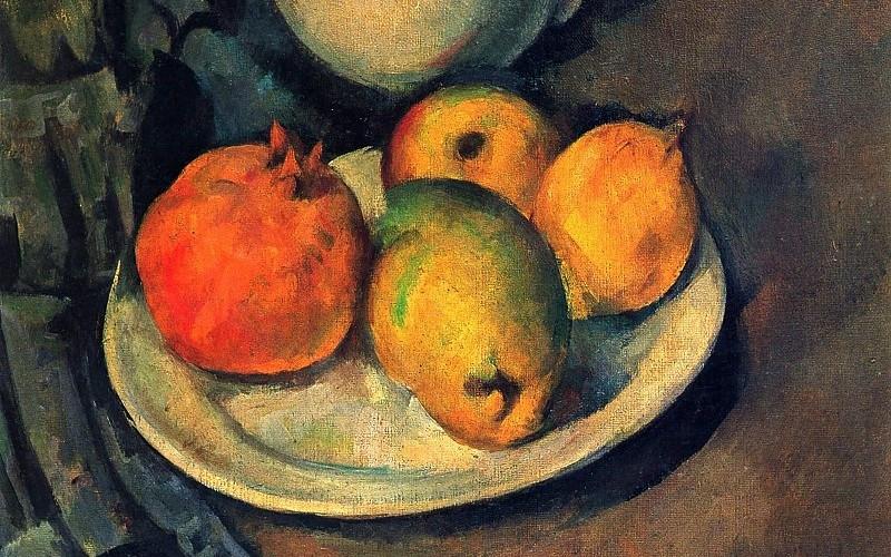 Paul Cézanne, Nature morte à la grenade et les poires