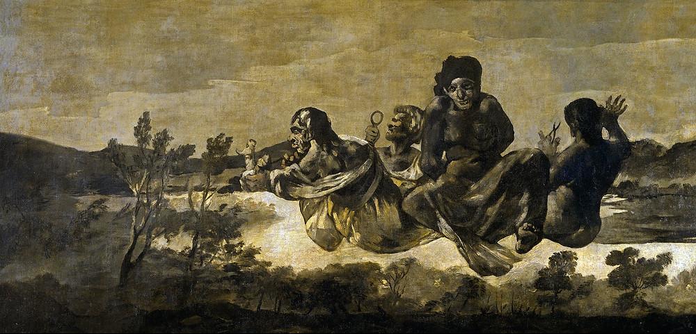 Goya, Les Moires, 1820-1823, Musée du Prado, Madrid