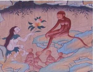 Singe-Ancêtre des Tibétains