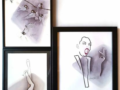 "Artworks ""shadows & colors"""