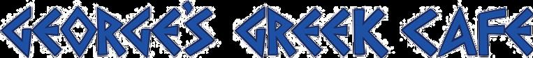 Georges Greek Cafe logo.png